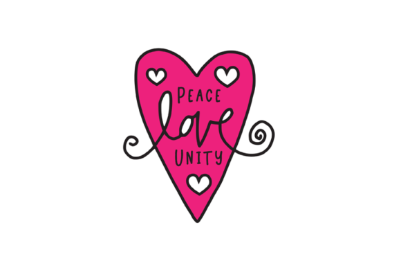 Download Free Peace Love Unity Svg Graphic By Carrtoonz Creative Fabrica for Cricut Explore, Silhouette and other cutting machines.