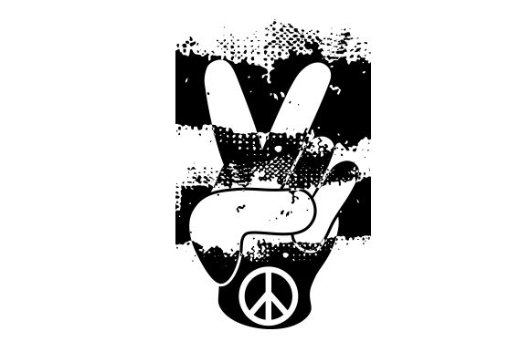 Download Free Peace Sign Hand Gesture Svg Cut File By Creative Fabrica for Cricut Explore, Silhouette and other cutting machines.