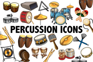Percussion Clipart Graphic By Mine Eyes Design