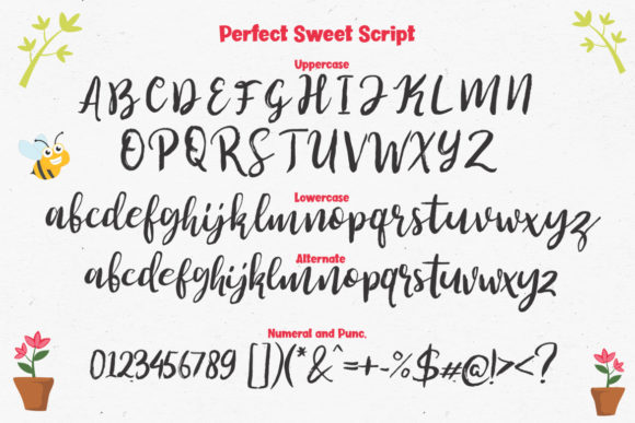 Print on Demand: Perfect Sweet Trio Script & Handwritten Font By Lettersiro Co. - Image 14