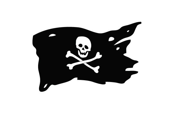 Pirate Flag Pirates Craft Cut File By Creative Fabrica Crafts