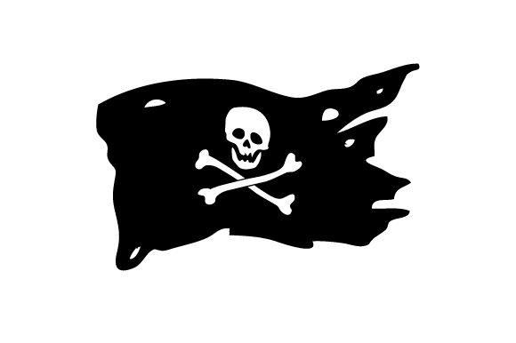 Pirate Flag Svg Cut File By Creative Fabrica Crafts Creative