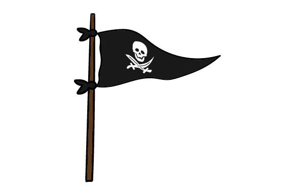 Download Free Pirate Flag Svg Cut File By Creative Fabrica Crafts Creative for Cricut Explore, Silhouette and other cutting machines.