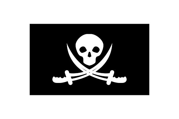 Pirate Flags Svg Cut File By Creative Fabrica Crafts Creative