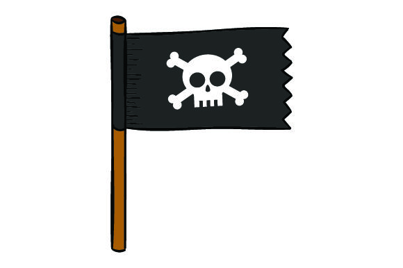 Download Free Pirate Flags Svg Cut File By Creative Fabrica Crafts Creative for Cricut Explore, Silhouette and other cutting machines.