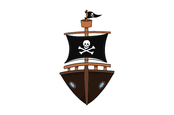 Download Free Pirate Ship Svg Cut File By Creative Fabrica Crafts Creative SVG Cut Files