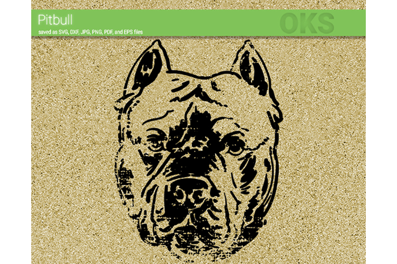 Download Free Pitbull Vector Graphic By Crafteroks Creative Fabrica for Cricut Explore, Silhouette and other cutting machines.