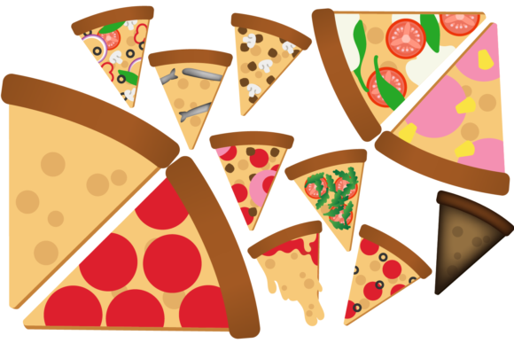 Pizza Slice Clipart Graphic Illustrations By Mine Eyes Design - Image 2
