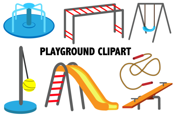 Playground Clipart Graphic By Mine Eyes Design