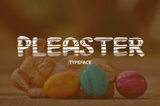 Pleaster Font By da_only_aan