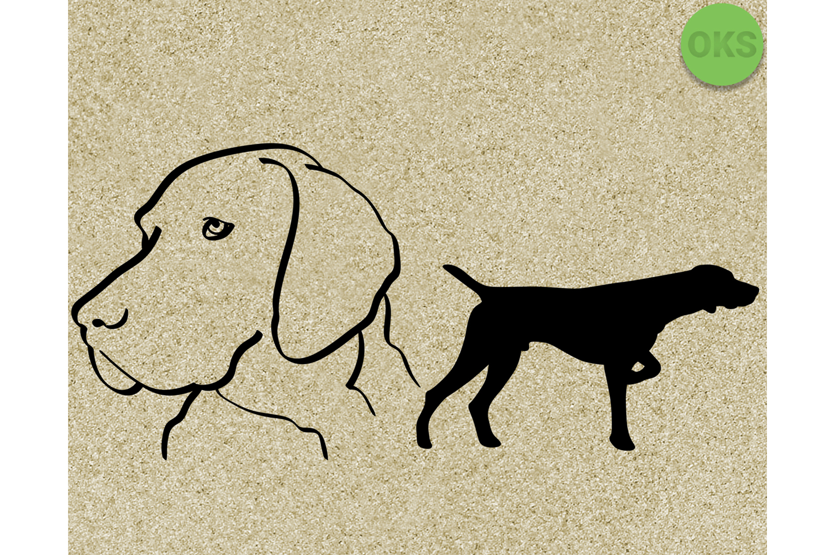 Download Free Pointer Dog Svg Graphic By Crafteroks Creative Fabrica for Cricut Explore, Silhouette and other cutting machines.