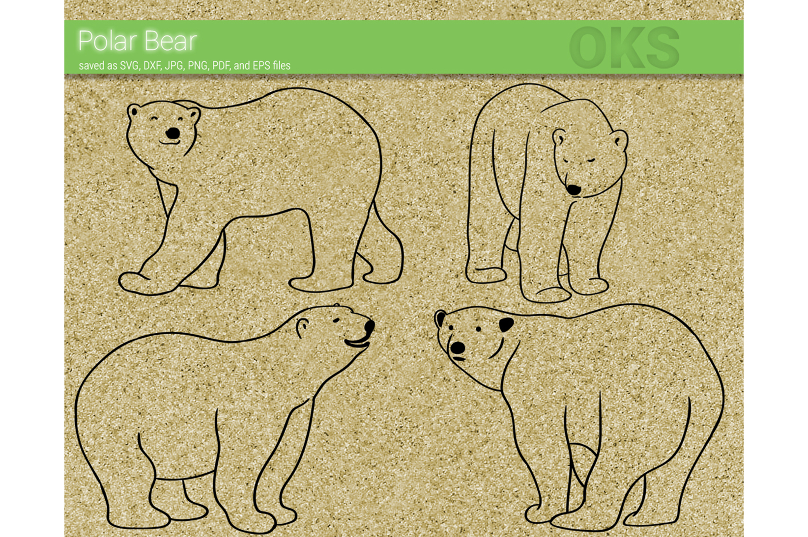 Download Free Polar Bear Svg Vector Graphic By Crafteroks Creative Fabrica for Cricut Explore, Silhouette and other cutting machines.