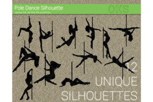 Download Free Pole Dance Dancing Stripper Svg Graphic By Crafteroks for Cricut Explore, Silhouette and other cutting machines.