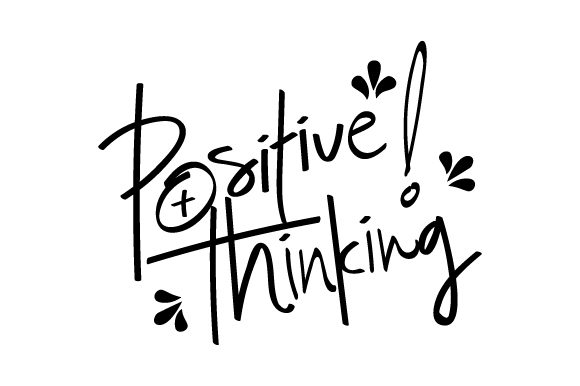 Positive Thinking Graphic By Xtragraph