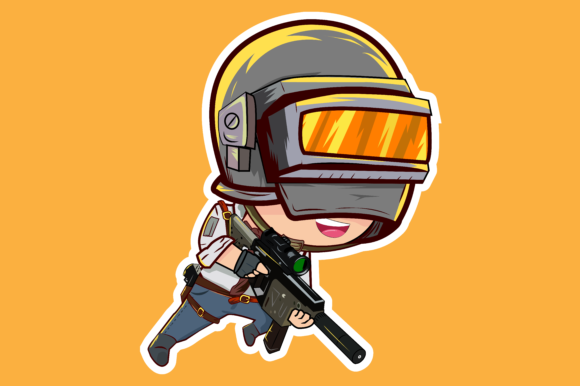 Pubg Character: Pubg Character Graphic By Muhammad.chalid.isra