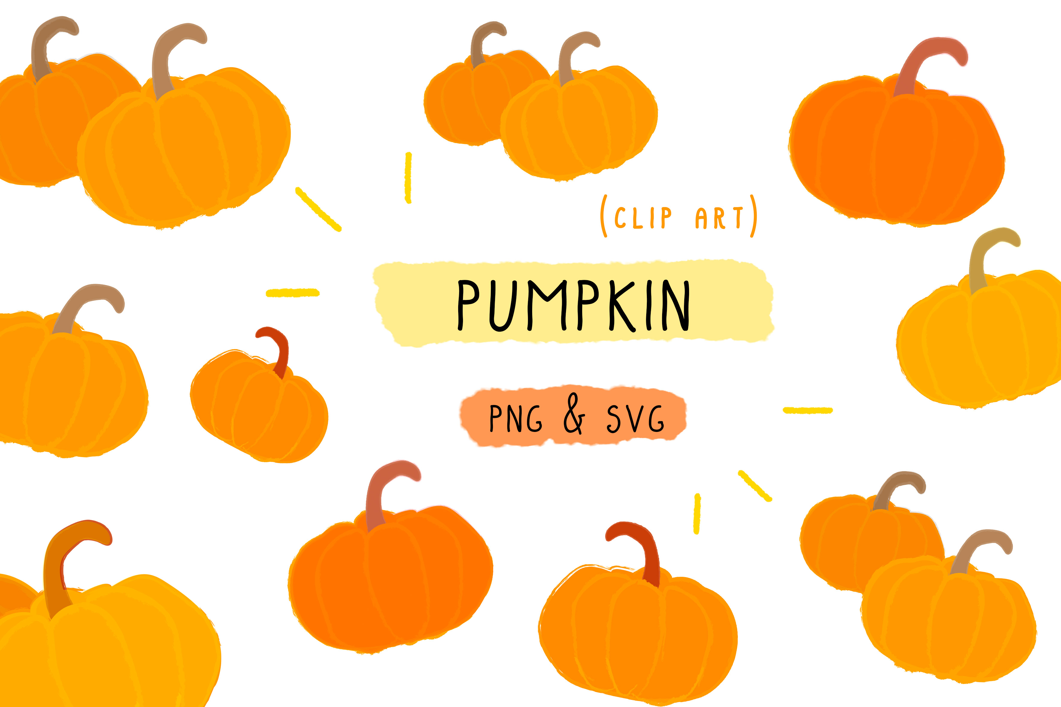 Download Free Pumpkin Halloween Food Clipart Graphic By Inkclouddesign for Cricut Explore, Silhouette and other cutting machines.