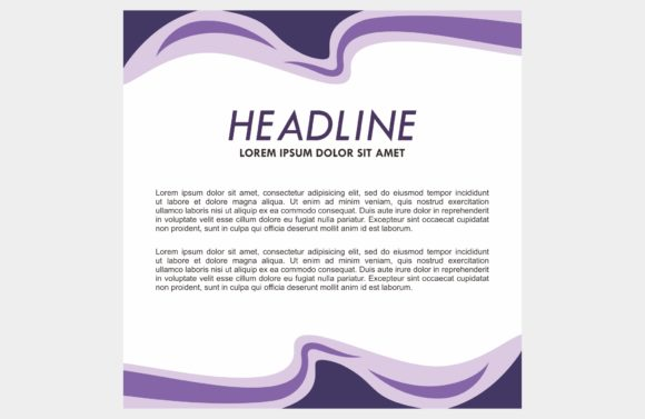 Purple Background Frame Graphic Backgrounds By dstudio