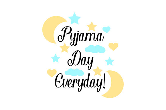 Download Free Pyjama Day Everyday Svg Cut File By Creative Fabrica Crafts Creative Fabrica for Cricut Explore, Silhouette and other cutting machines.