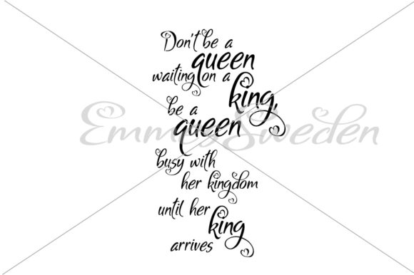 Download Free Queen King Kingdom Svg File Graphic By Emmessweden Creative for Cricut Explore, Silhouette and other cutting machines.