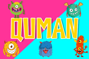 Quman Font By Boombage
