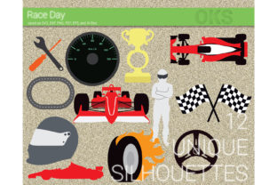 Download Free Racing Car Race Svg Vector Clipart Graphic By Crafteroks for Cricut Explore, Silhouette and other cutting machines.