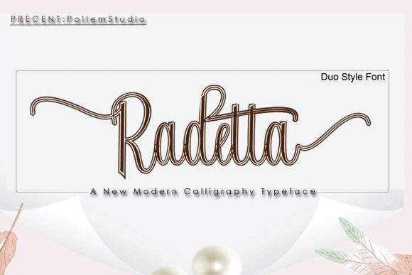 Print on Demand: Radetta Script & Handwritten Font By Polem - Image 2