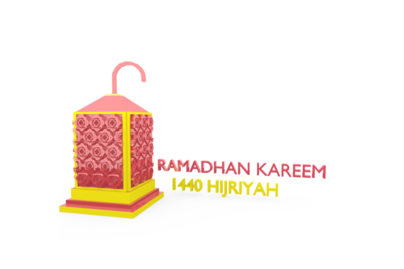 Print on Demand: Ramadan Lantern Pack Graphic Backgrounds By mozyenstudio - Image 2