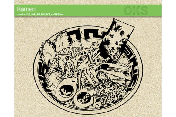 Download Free Ramen Graphic By Crafteroks Creative Fabrica for Cricut Explore, Silhouette and other cutting machines.
