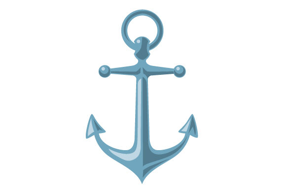 Realistic Anchor Svg Cut File By Creative Fabrica Crafts
