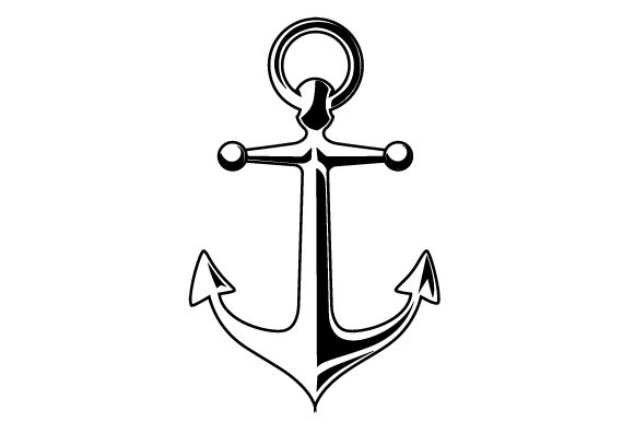 Realistic Anchor Pirates Craft Cut File By Creative Fabrica Crafts - Image 2
