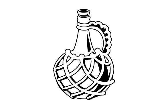 Download Free Realistic Rum Bottle Svg Cut File By Creative Fabrica Crafts for Cricut Explore, Silhouette and other cutting machines.
