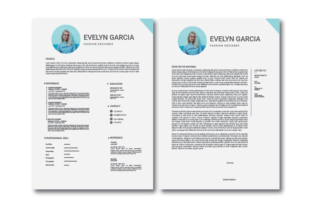 Print on Demand: Resume CV Template Graphic Print Templates By nirmala.graphics