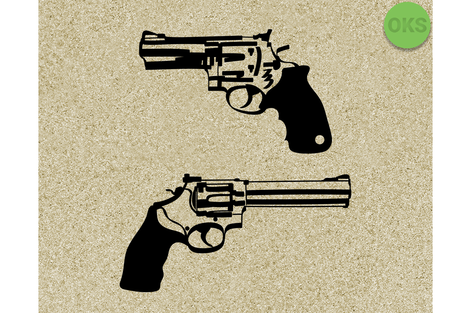 Download Free Revolver Clipart Graphic By Crafteroks Creative Fabrica SVG Cut Files
