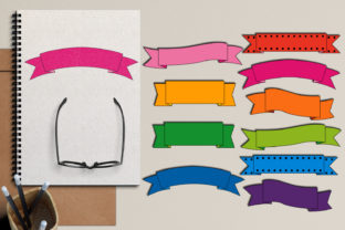Ribbon Banners Graphic By Revidevi