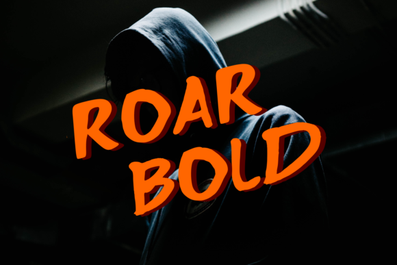 Print on Demand: Roar Bold Display Font By miracleboykenzie