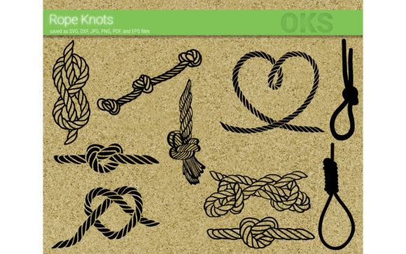 Download Free Rope Knot Bundle Vector Cut File Graphic By Crafteroks SVG Cut Files