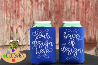 Download Free Royal Blue Can Cooler Mockup Graphic By 616svg Creative Fabrica for Cricut Explore, Silhouette and other cutting machines.