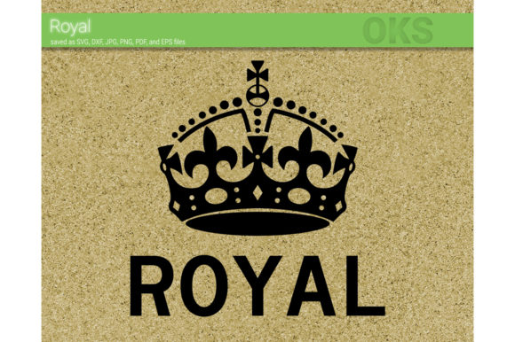 Royal Crown Svg Vector Graphic By Crafteroks Creative Fabrica
