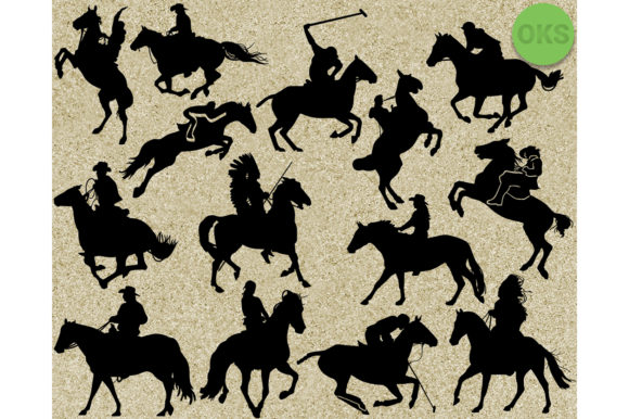 Download Free Running Prancing Riding Horse Svg Graphic By Crafteroks for Cricut Explore, Silhouette and other cutting machines.
