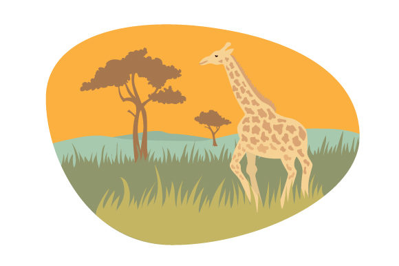 Safari Inspired South Africa Craft Cut File By Creative Fabrica Crafts