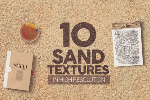 Sand Textures X10 Graphic Textures By SmartDesigns