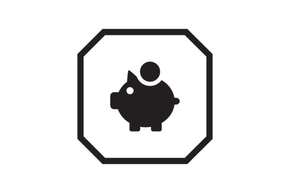 Download Free Savings Icon Graphic By Zafreeloicon Creative Fabrica for Cricut Explore, Silhouette and other cutting machines.