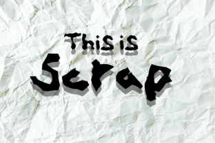 Scrap Font By GraphicsBam Fonts