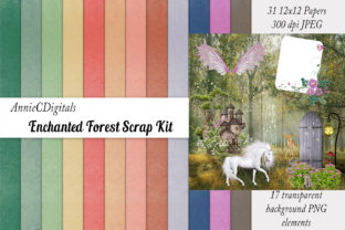 Download Free Scrapbook Paper Scrap Kit Spring Graphic By Anniecdigitals for Cricut Explore, Silhouette and other cutting machines.
