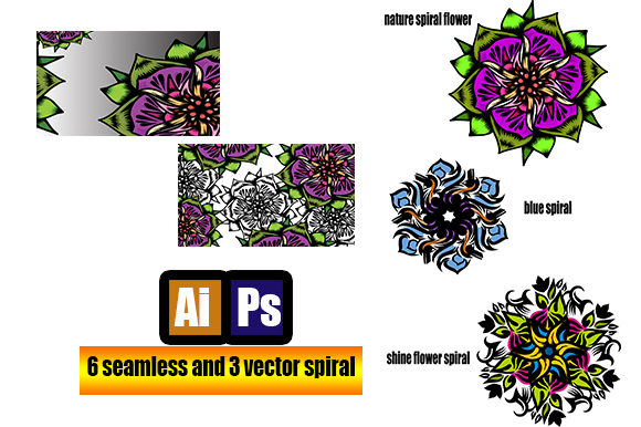 Seamless Pattern Flower Art Graphic Patterns By ahmaddesign99 - Image 2