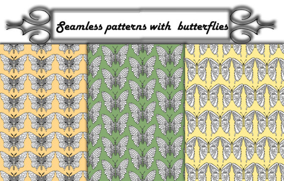 Download Free Spring Pattern Of Tulips And Daffodils Graphic By Kakva for Cricut Explore, Silhouette and other cutting machines.