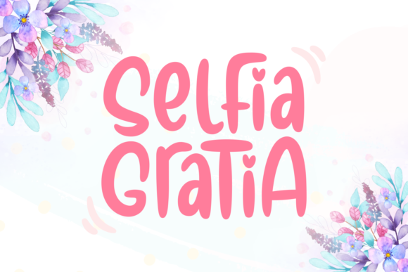 Print on Demand: Selfia Gratia Script & Handwritten Font By Rifki (7ntypes)
