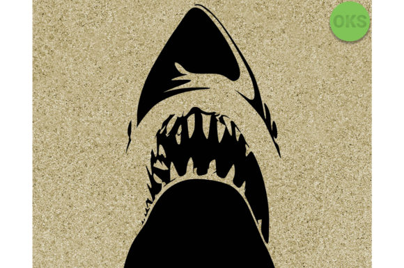 Print on Demand: Shark Vector Graphic Crafts By CrafterOks