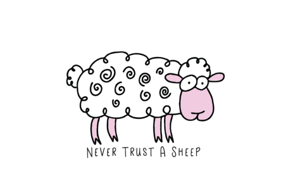 Sheep SVG Graphic Illustrations By carrtoonz - Image 2