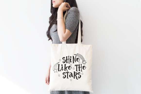 Shine Like the Stars SVG Graphic By carrtoonz Image 2